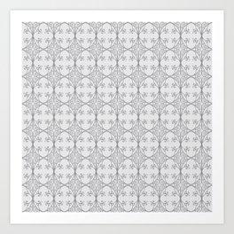 London Gate Grey Art Print