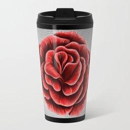 Red rose Travel Mug