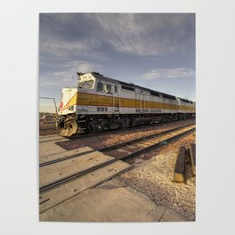 Canyon Rail Twylight Poster