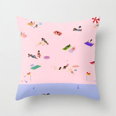 Coogee Beach Throw Pillow