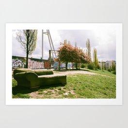 Mauerpark Afternoon - Berlin Art Print