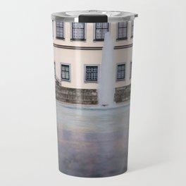 Castle fountain Travel Mug