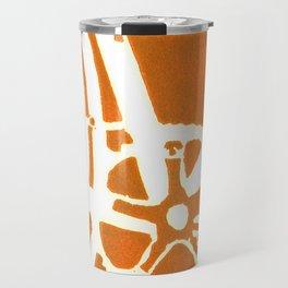 Orange Bike Travel Mug