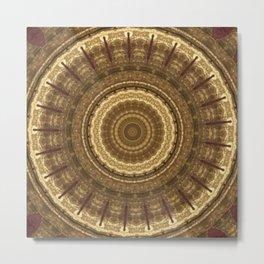 Some Other Mandala 328 Metal Print