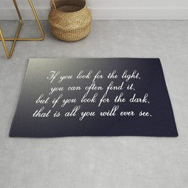 Look for the Light Rug
