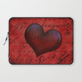 Love you Laptop Sleeve