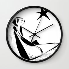 Not all about your lucky star Wall Clock