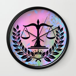 Legal Ease Wall Clock