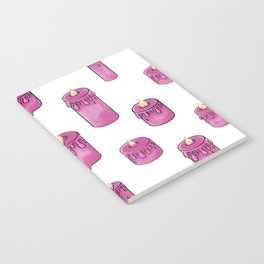 Candle Lit Pattern Notebook