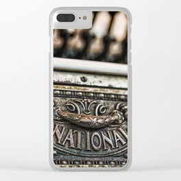 National Cash Clear iPhone Case