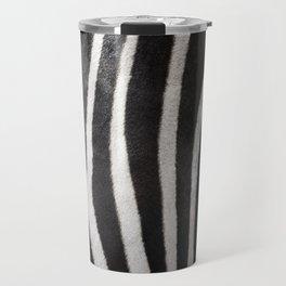 Zebra strips Travel Mug