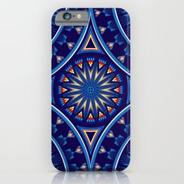 Blue Fire Keepers iPhone Case