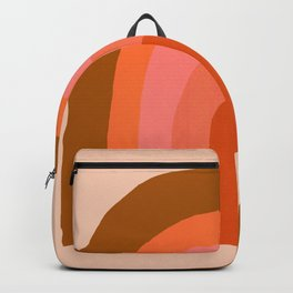 Abstraction_Rainbow_001 Backpack