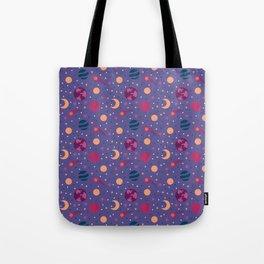 Universe Pattern Tote Bag