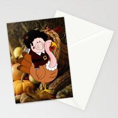 Thanksgiving turkeys Stationery Cards
