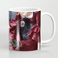 mother of dragons Mugs featuring mother of dragons by YattaGiulia