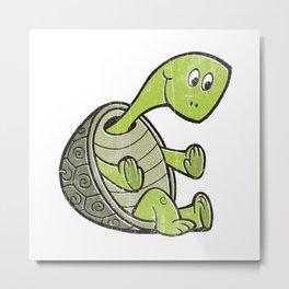 Terrance The Turtle Metal Print