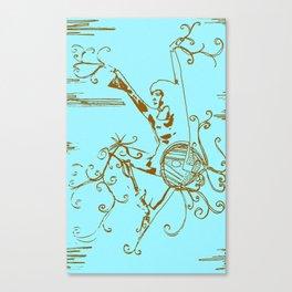 Tiny Dancer [Locust] Canvas Print