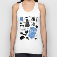doctor Tank Tops featuring Artifacts: Doctor Who by Josh Ln