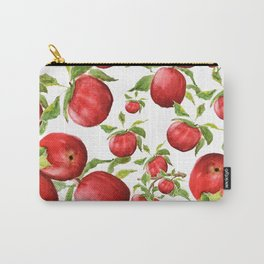 red apple Carry-All Pouch
