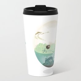 Bubble-map #01 Kalt Travel Mug