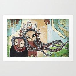 People of the Wind Art Print