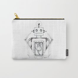 Robot in Love Carry-All Pouch