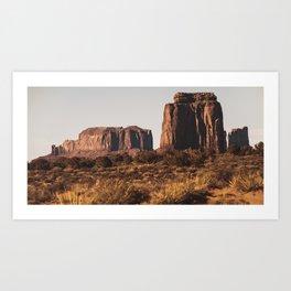 John Wayne Country Landscape Art Print