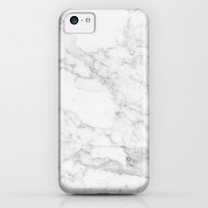 White Marble Edition 2 iPhone 5c Slim Case