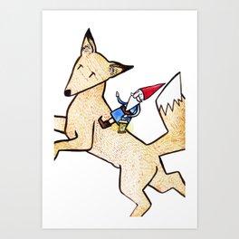 David the Gnome Art Print
