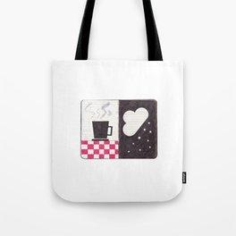 Coffee & Snow Tote Bag