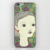 moustache iPhone & iPod Skins featuring moustache by Willy Ollero