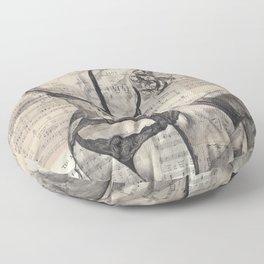 Passionfruit Floor Pillow
