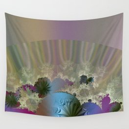 Under the calm surface Wall Tapestry