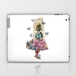 Alice In Wonderland Magical Garden - Vintage Book Laptop & iPad Skin