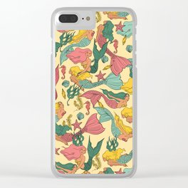 Mermaid Dreams Clear iPhone Case