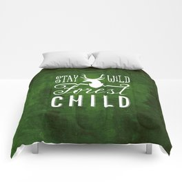 forest child Comforters