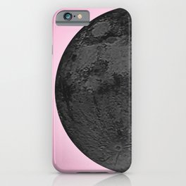 BLACK MOON + PINK SKY iPhone Case
