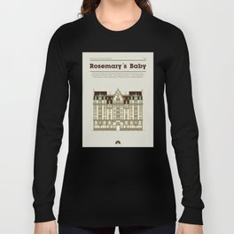 Horror Film Houses 02 Long Sleeve T-shirt