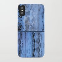 geology iPhone & iPod Cases featuring The Geology of Snow by World Raven