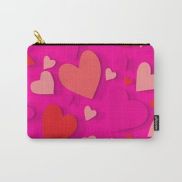 Decorative paper heart 3 Carry-All Pouch