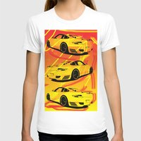 porsche T-shirts featuring Porsche  by deadfish