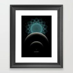 BLUE DWARF Framed Art Print