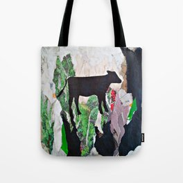 Walking free - Vegan Series - Original Painting by MARINA TALIERA Tote Bag
