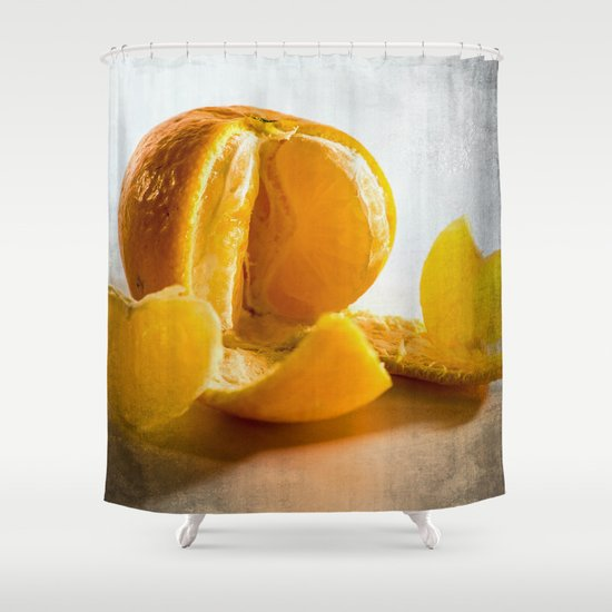 Vitamin Shower Curtain