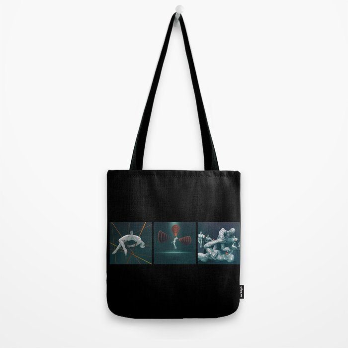 Humans In The Information Age Tote Bag