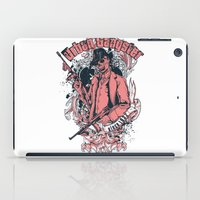 gangster iPad Cases featuring Urban gangster by Tshirt-Factory