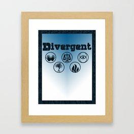 Divergent Framed Art Print