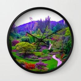 Butchart Gardens Wall Clock