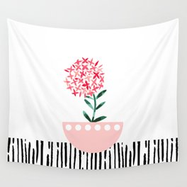 Potted Plant 4 Wall Tapestry
